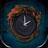 Dragon Gothic Clock