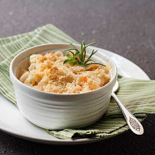 Gluten Free Shrimp Mac and Cheese