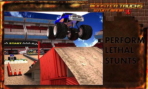 怪物卡車特技停車3D