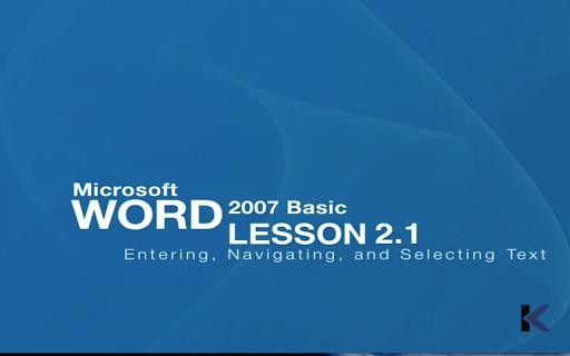 Easy Word Video Training