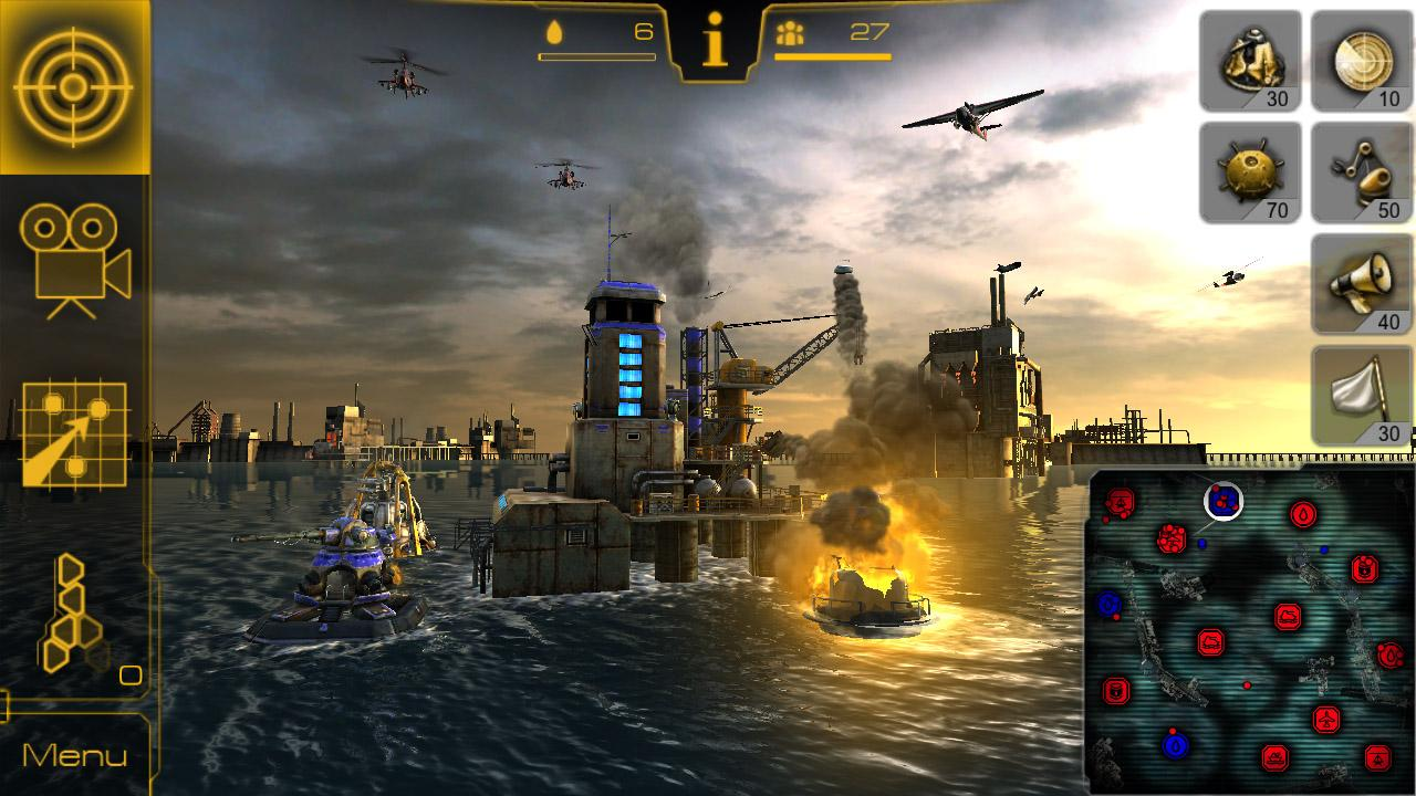 Oil Rush: 3D naval strategy- screenshot