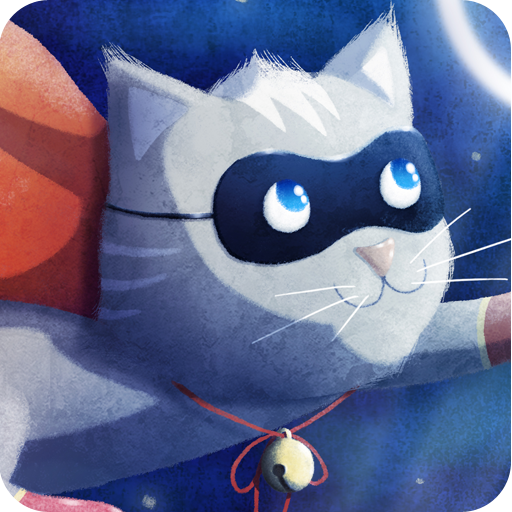 Superhero Cat Wallpaper LOGO-APP點子