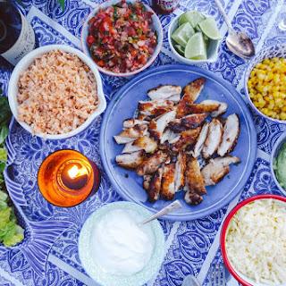 Skinny Crispy-Chicken Burrito Bowls