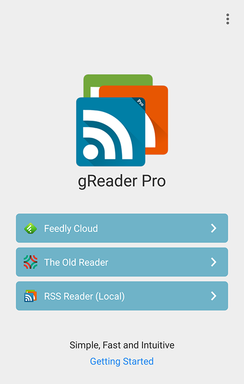 gReader | Nachrichten | RSS – Screenshot