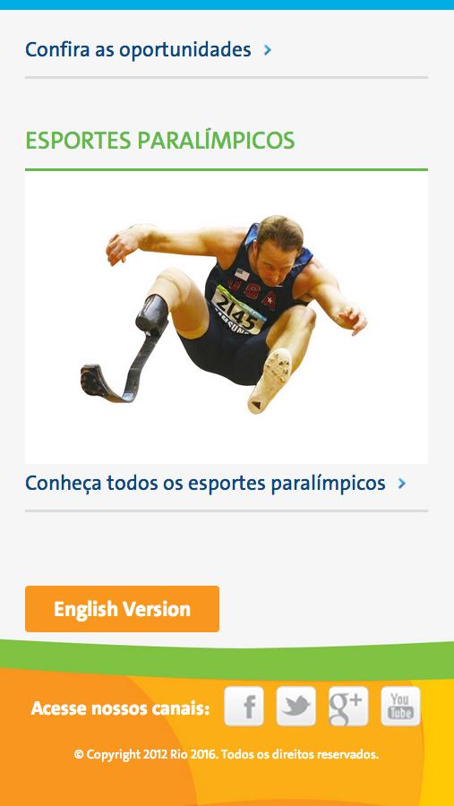 Rio 2016 - screenshot