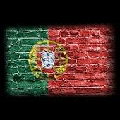 3D Portugal Cube Flag LWP