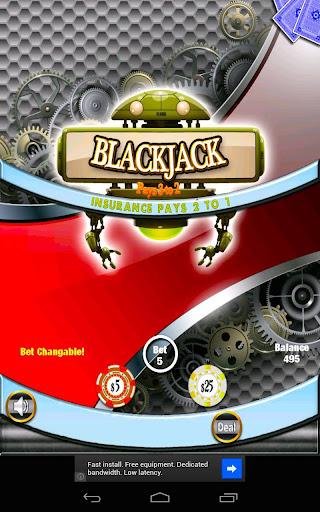 Robot Extinction Blackjack Fre