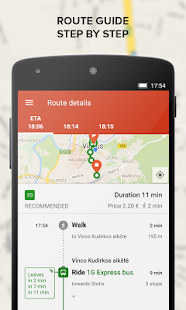 TRAFI real time public transit - screenshot thumbnail