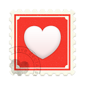 Love declarations and messages icon