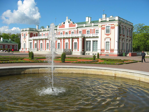 Kadriorg Palace in Tallinn, Estonia.