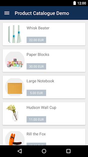 Product Catalogue Showcase