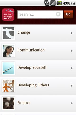 Mobile ManageMentor-Enterprise - screenshot
