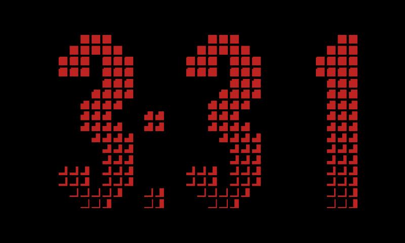 Desk Clock (Donate)- screenshot
