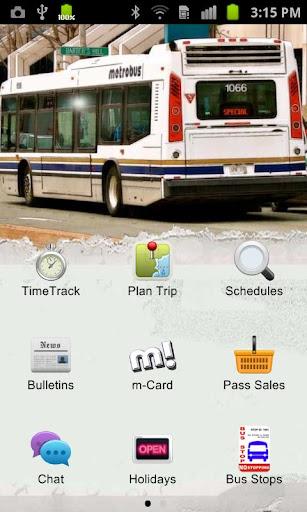 m-Mobile - Metrobus Transit