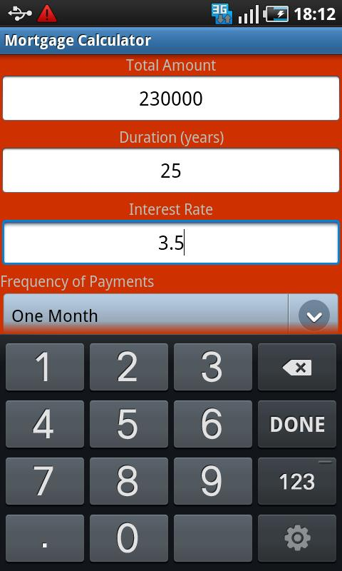 Loan Payment Calculator - screenshot