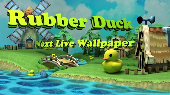 玩個人化App|Next RubberDuck Live Wallpaper免費|APP試玩