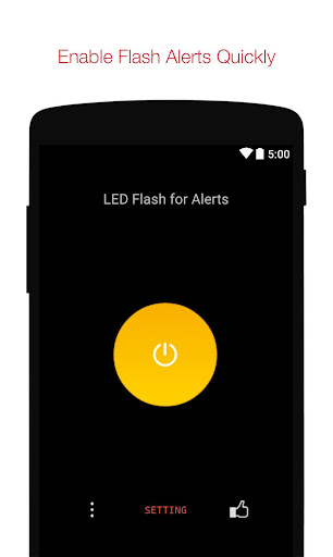 Flash Alerts on Call and SMS 2.33 screenshots 1