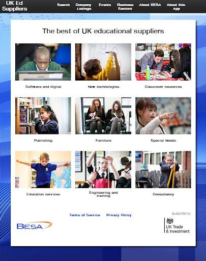 UK Ed Suppliers BESA