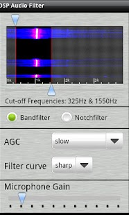 DSP Audio Filter- screenshot thumbnail