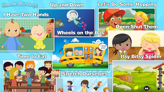 Kids Songs and Nursery Rhymes- screenshot thumbnail