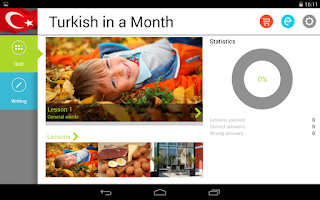 Screenshot of Turkish in a Month Free