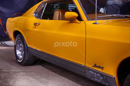 Ford Mustang mark 1  Automobiles  Transportation  Pixoto