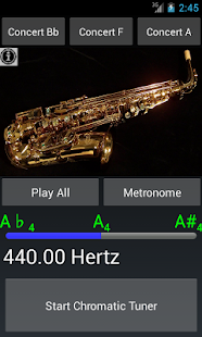 Easy Saxophone - Sax Tuner - screenshot thumbnail