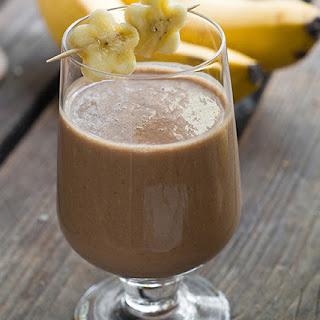 Chocolate Banana Wonderland Breakfast Smoothie.