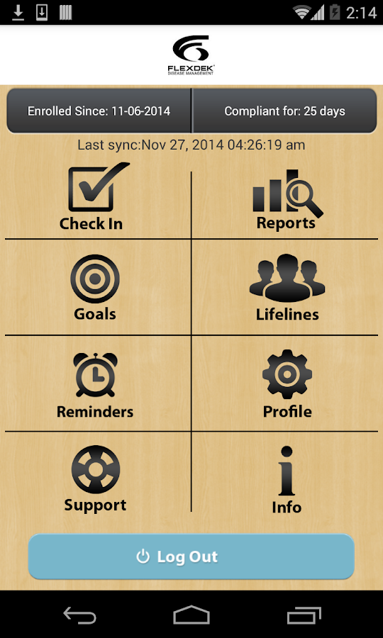 FlexDek : Wellness Management- screenshot