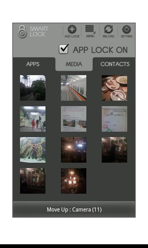 Smart Lock (App/Photo/Movie) - screenshot