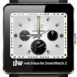 JJW Chrono White Watchface SW2
