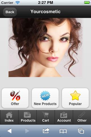 Yourcosmeticshop - screenshot