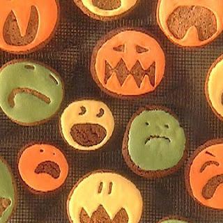 Halloween Pumpkin Spice Cookies