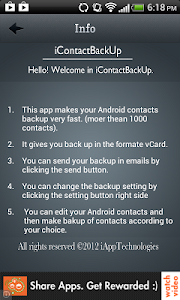 Contacts Backup -iCBackup screenshot 1