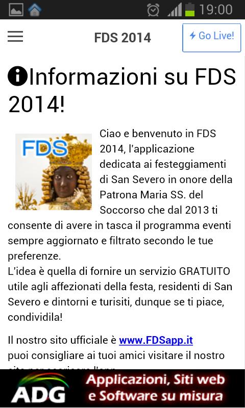 FDS 2014 - Festa del Soccorso - screenshot