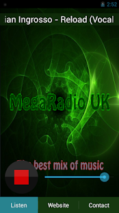 megaradio uk- screenshot thumbnail