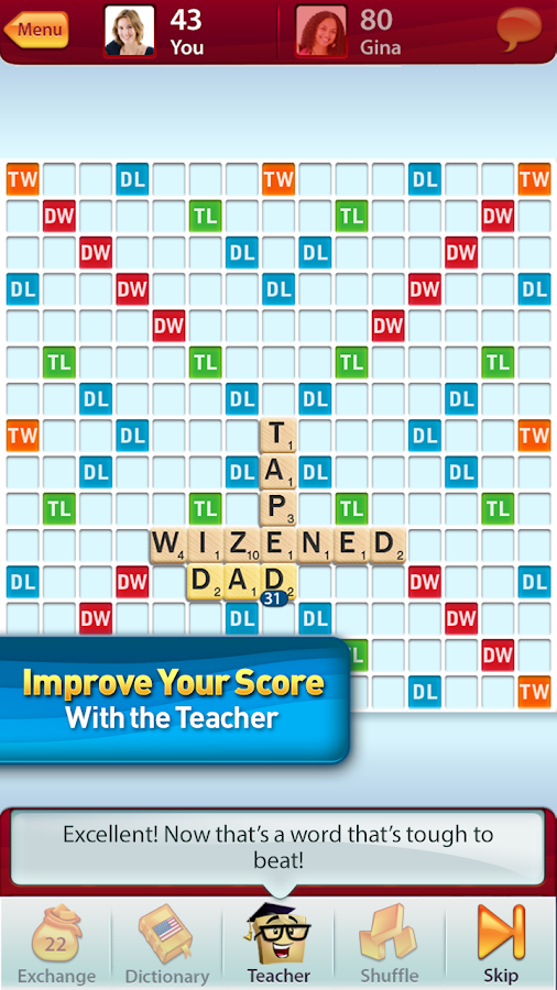 SCRABBLE - screenshot