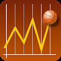 Basketball eSTATS EXPERT icon