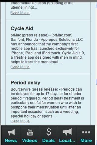 Menstruation Period Free - screenshot