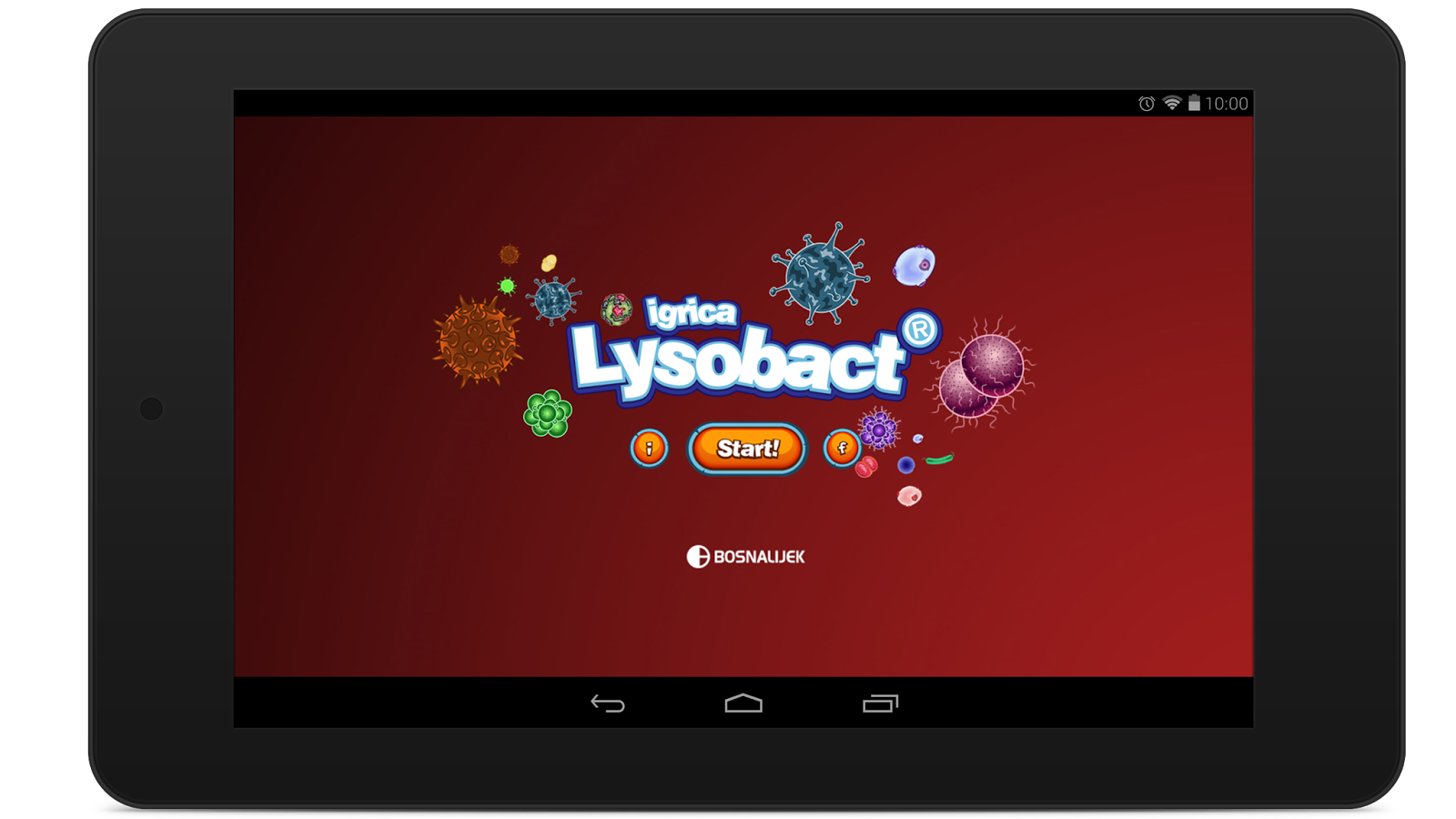Lysobact Game- screenshot
