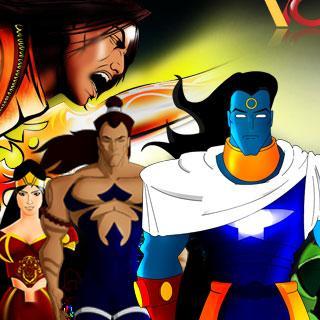 Comics design India