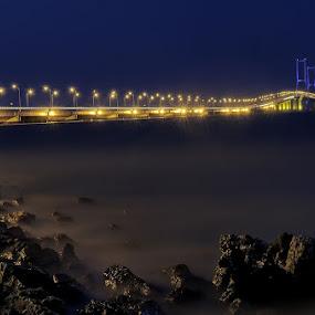 Suramadu Bridge by Darlis Herumurti - Landscapes Waterscapes