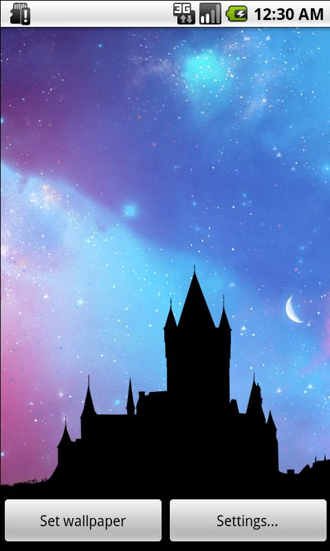 Nightfall Live Wallpaper Free - screenshot