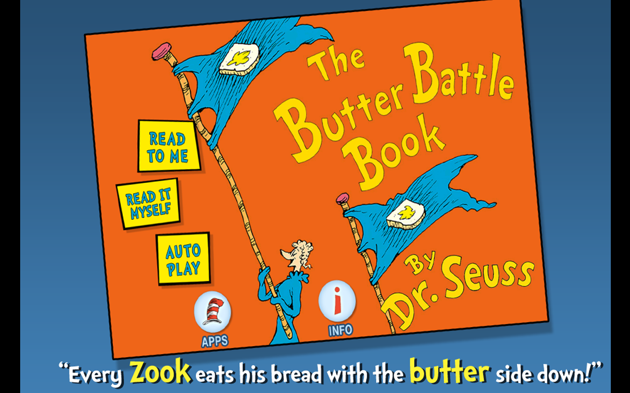 The Butter Battle Book - screenshot