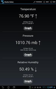 Weather Station Screenshot