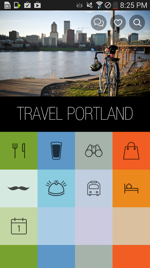 Travel Portland- screenshot