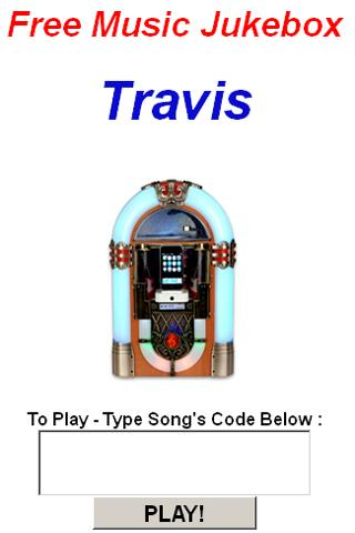 Travis Jukebox - screenshot