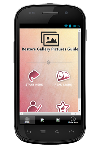 Restore Gallery Picture Guide