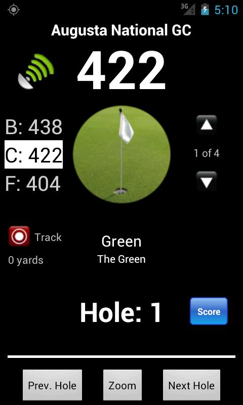SkyDroid - Golf GPS - screenshot