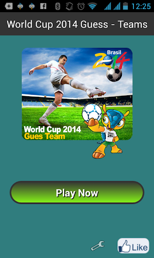 World Cup 2014 Guess - Teams